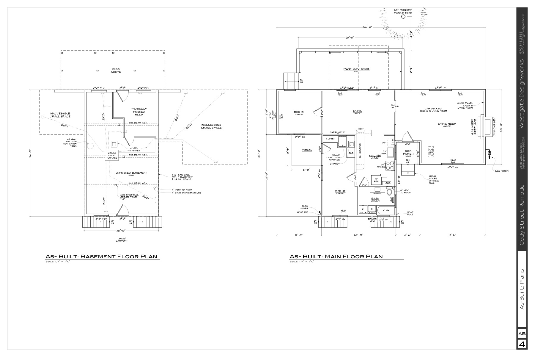 Existing Plan... terrible use of space!