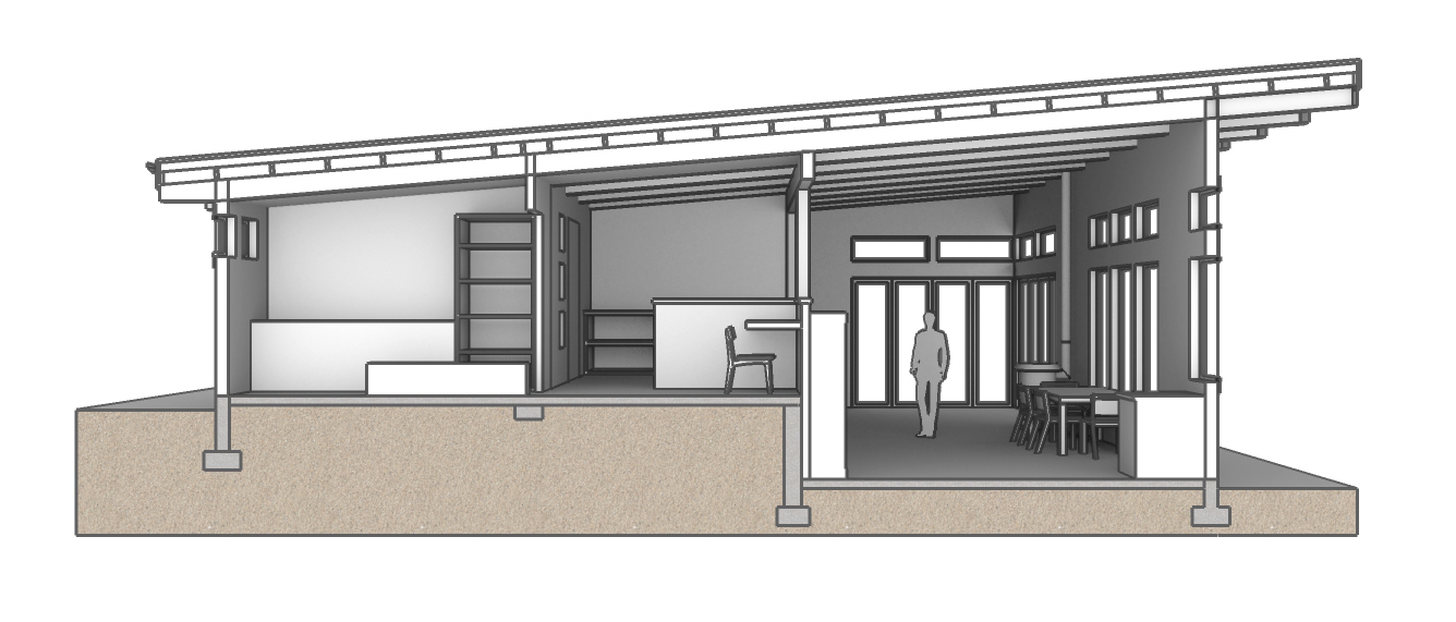 Section Study Rendering