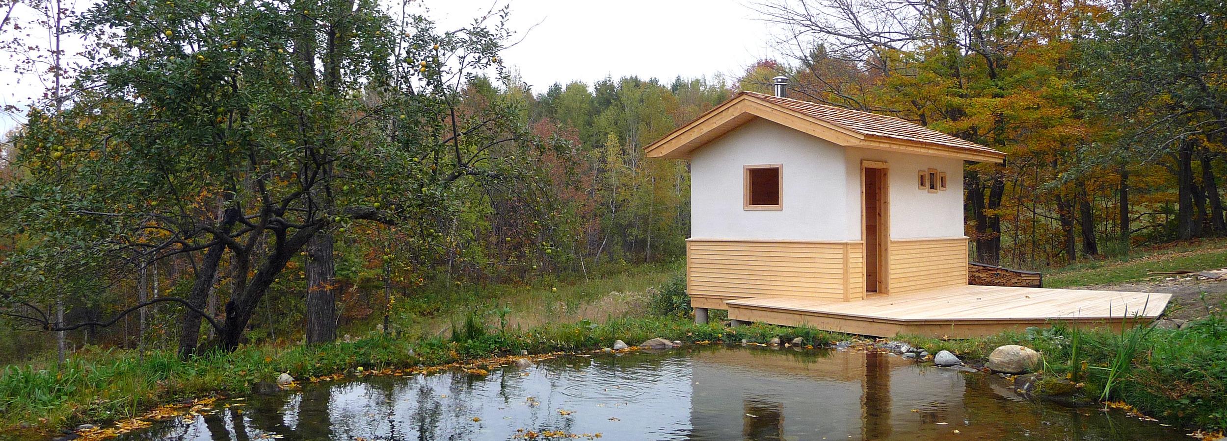 Natural Sauna, VT