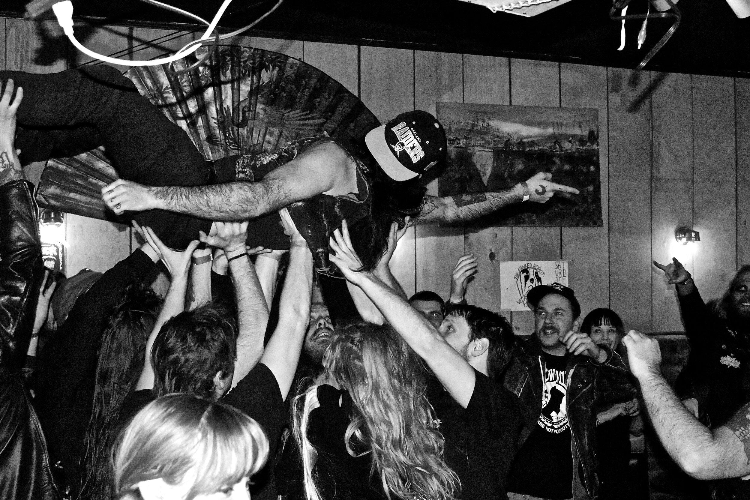 Blood of the Wolf Fest. Al's Bar, Lexington, KY. 2013.