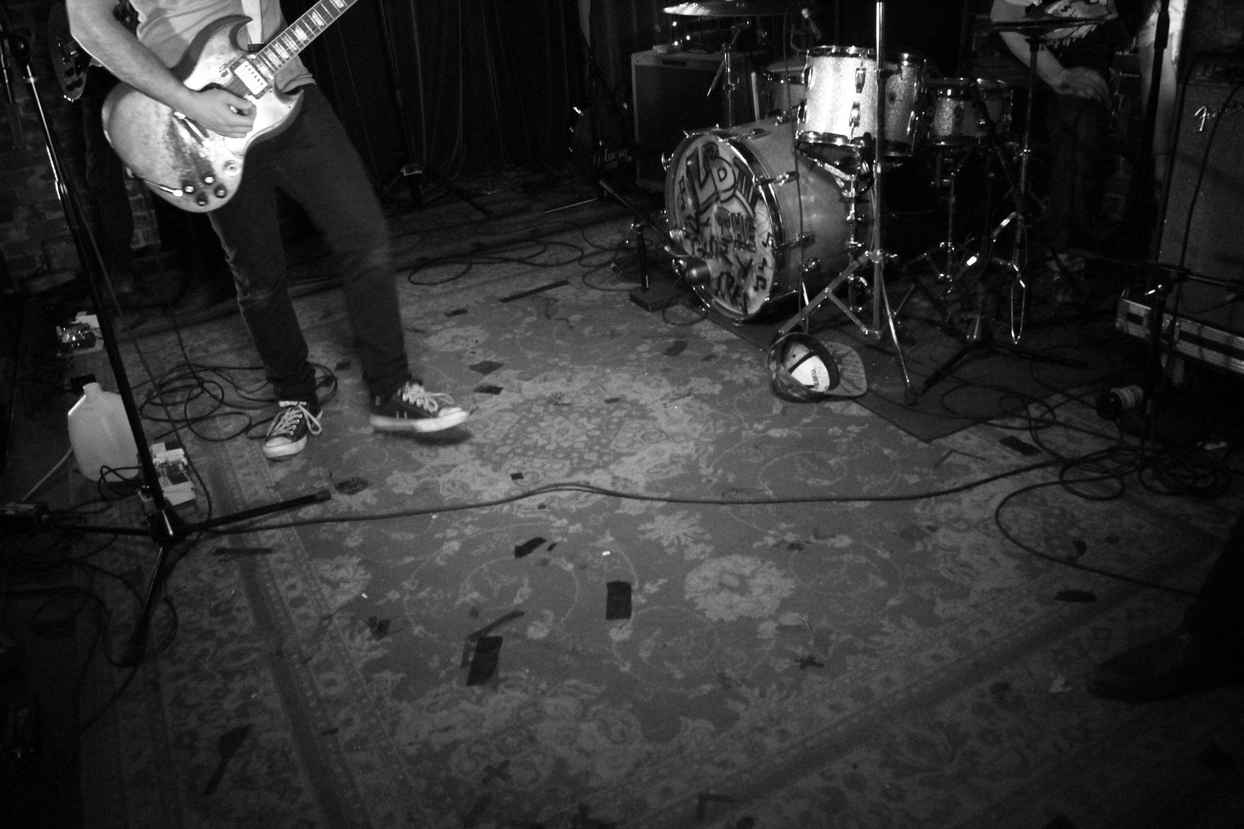 Lee Bains III & the Glory Fires. The Basement, Nashville, TN. 2014.