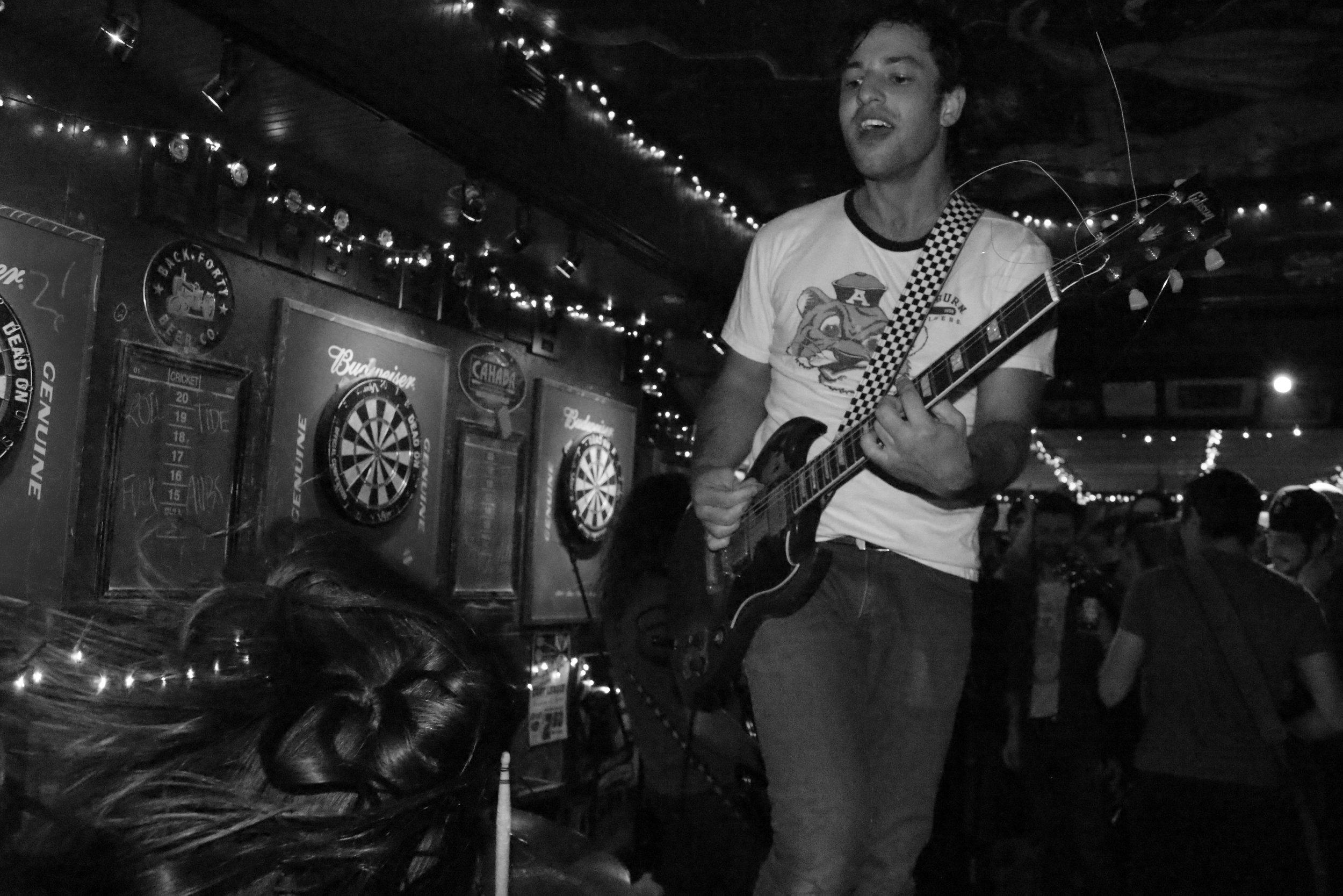 Lee Bains III & the Glory Fires. Egan's, Tuscaloosa, AL. 2014.