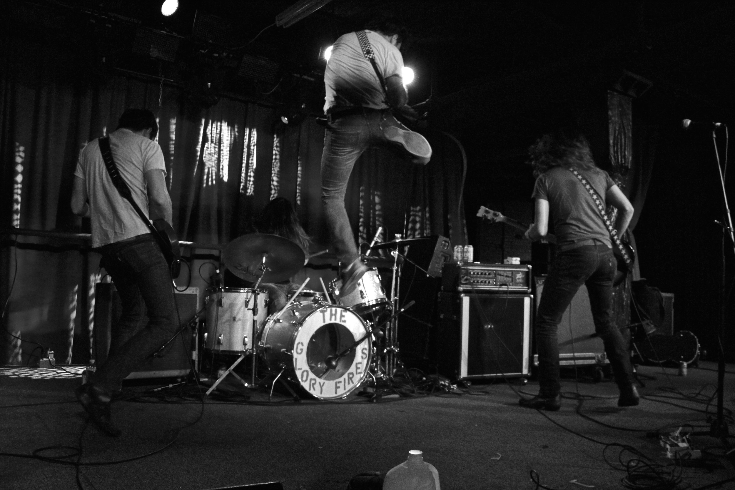Lee Bains III & the Glory Fires. The International, Knoxville, TN. 2014.