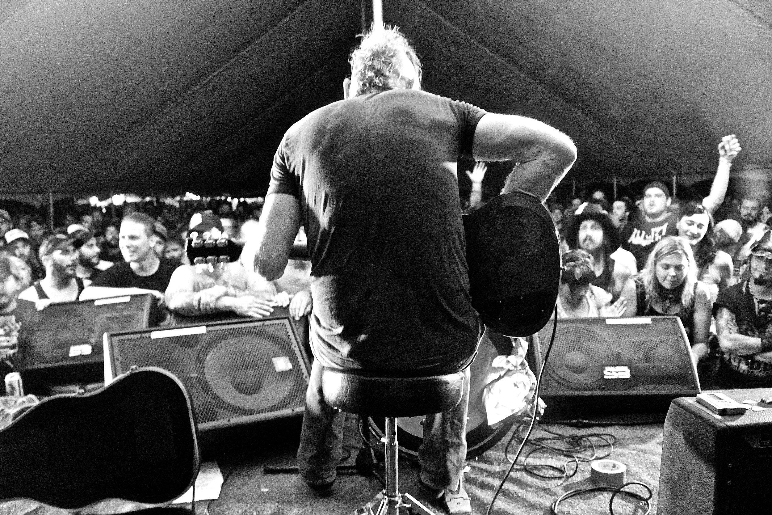 Joe Buck. Muddy Roots, Cookeville, TN. 2013.