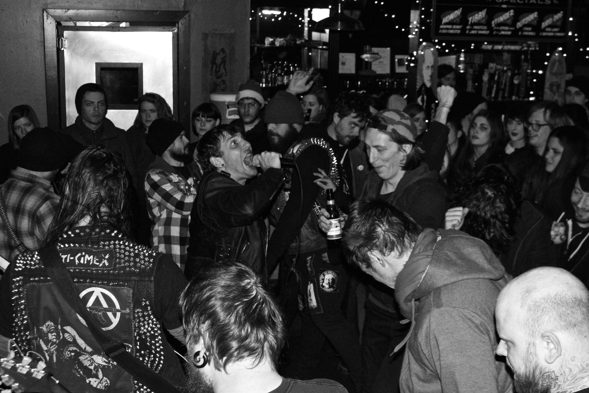 Bombs. Best Friend Bar, Lexington, KY. 2015.