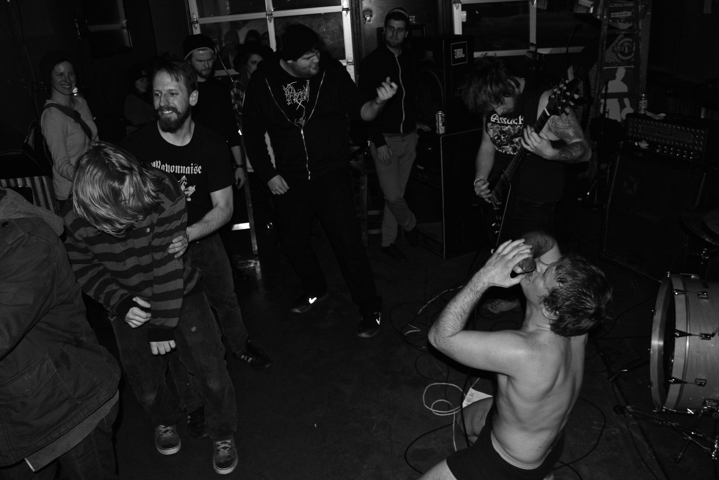 NerdRage. Best Friend Bar, Lexington, KY. 2015.