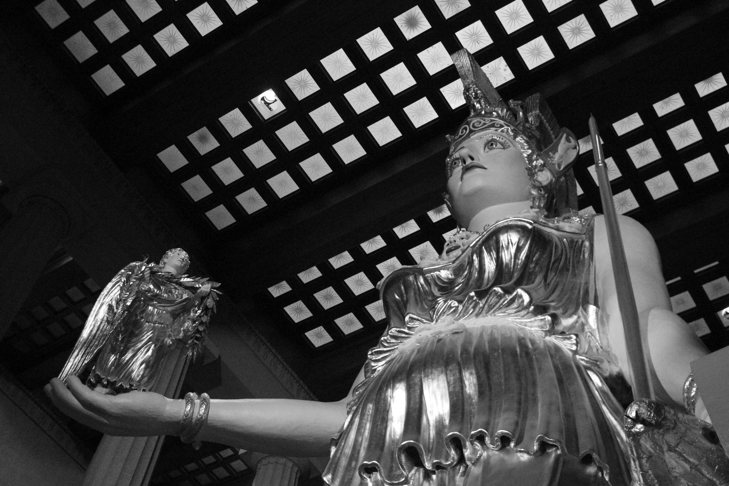 Athena, The Parthenon, Nashville, TN.