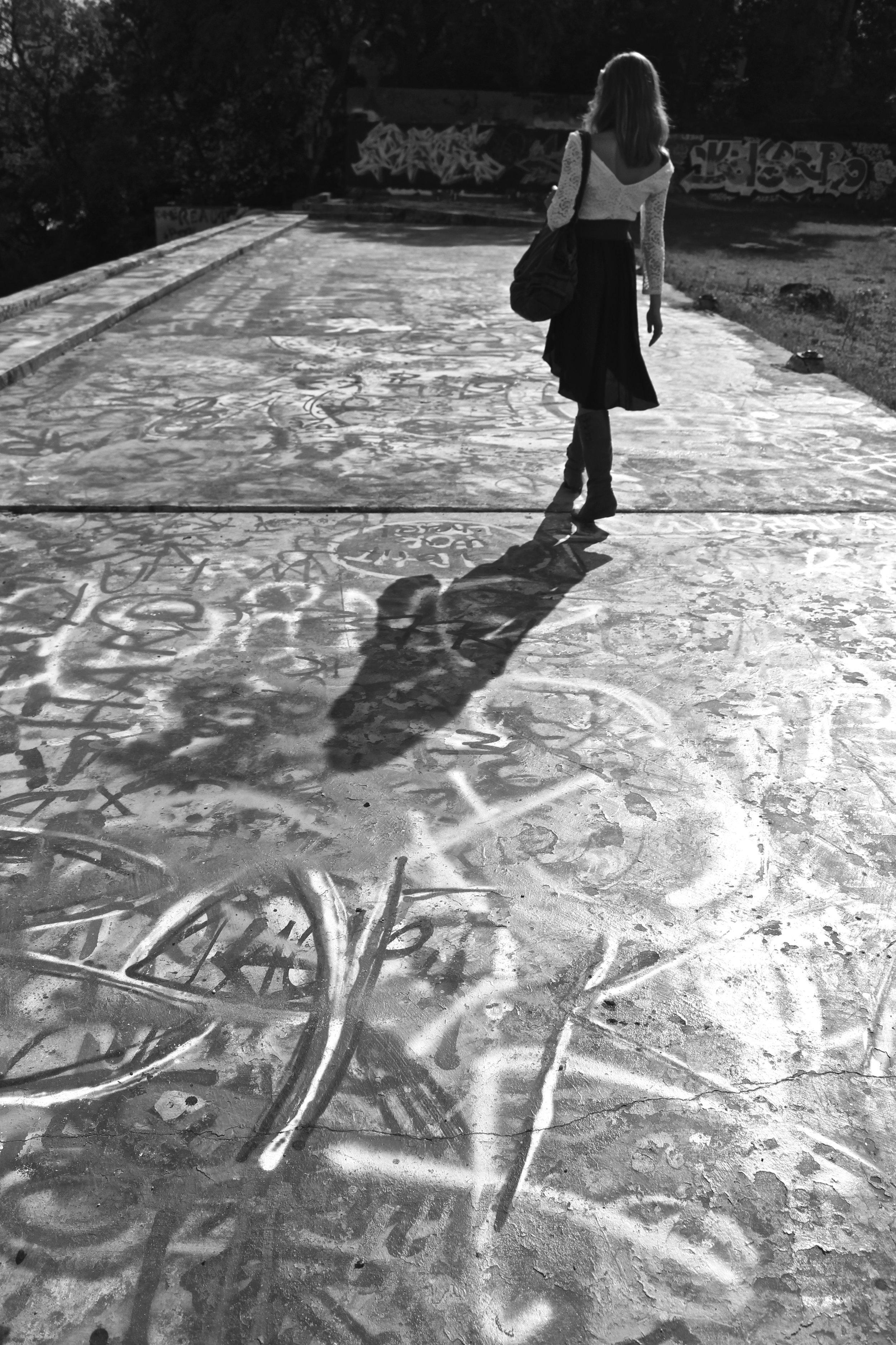 Graffiti Park, Austin, TX.
