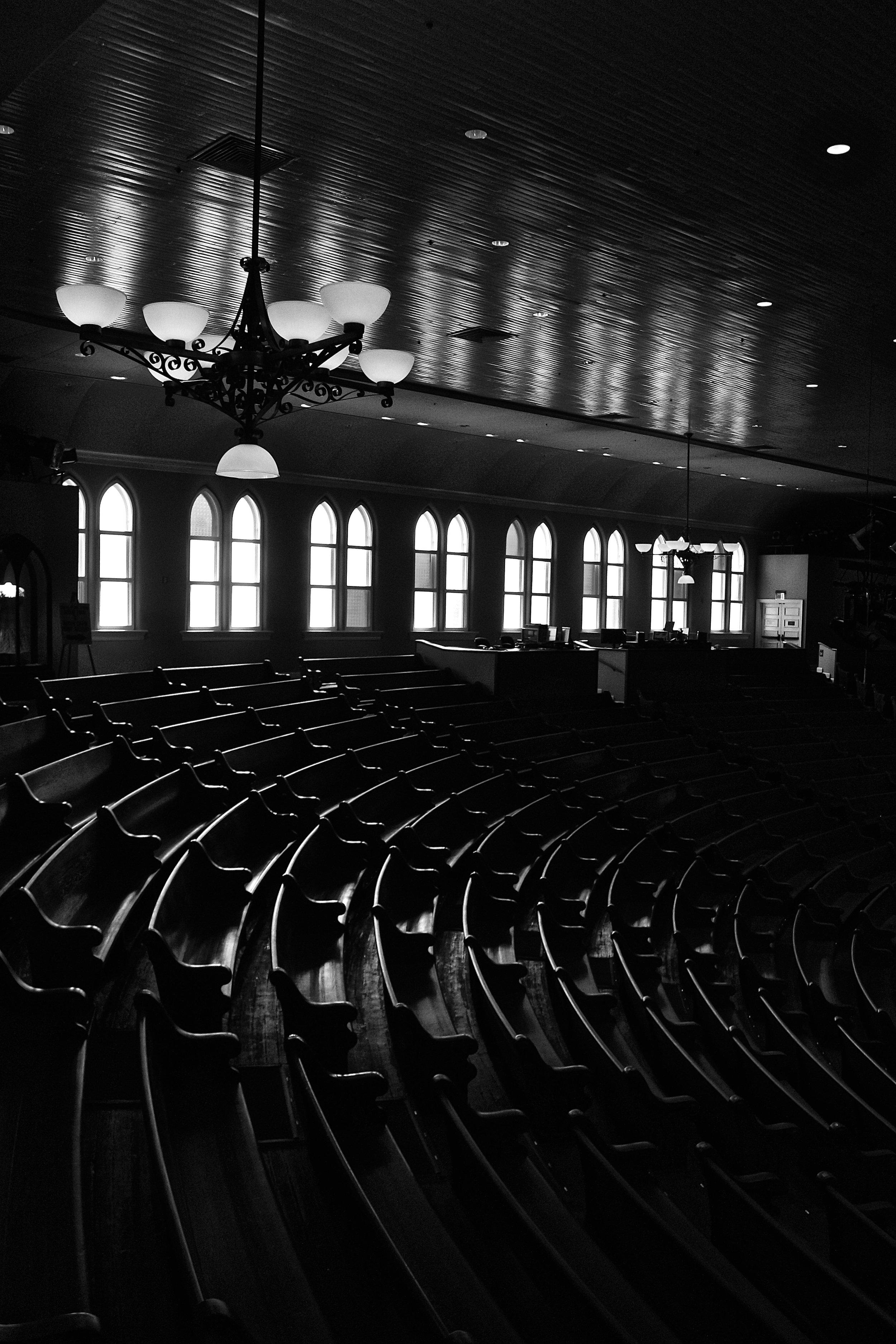Ryman Auditorium, Nashville, TN.