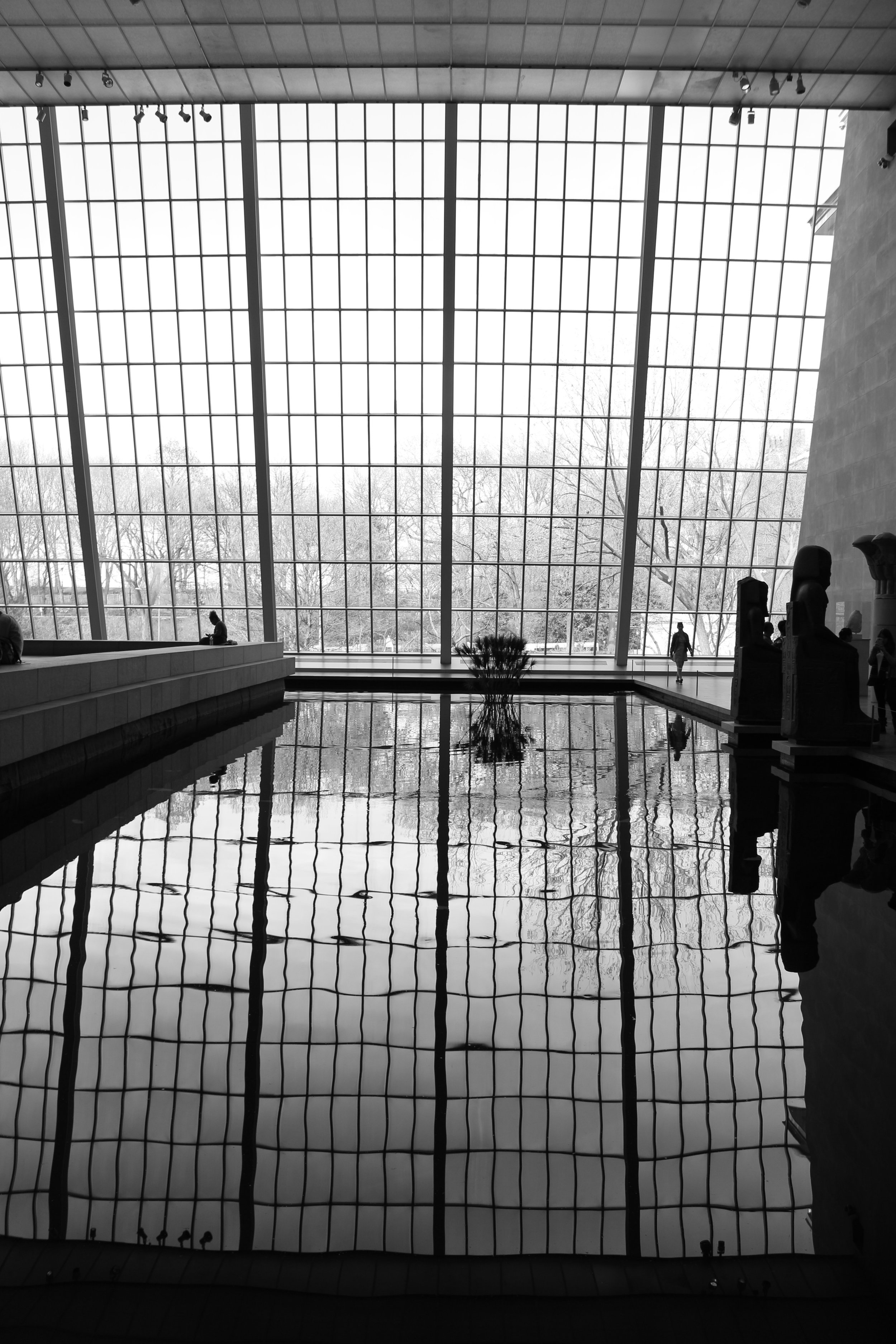 The Temple of Dendur, Metropolitan Museum of Art, New York, NY.