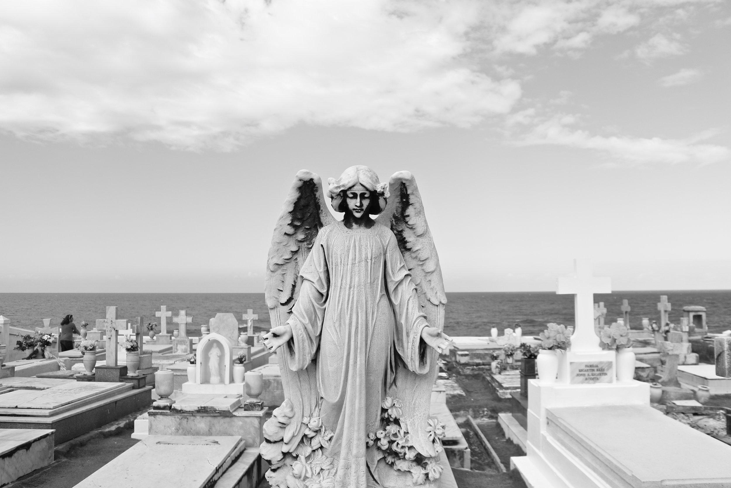 Cementerio Santa Maria Magdalena de Pazzis. San Juan, Puerto Rico.