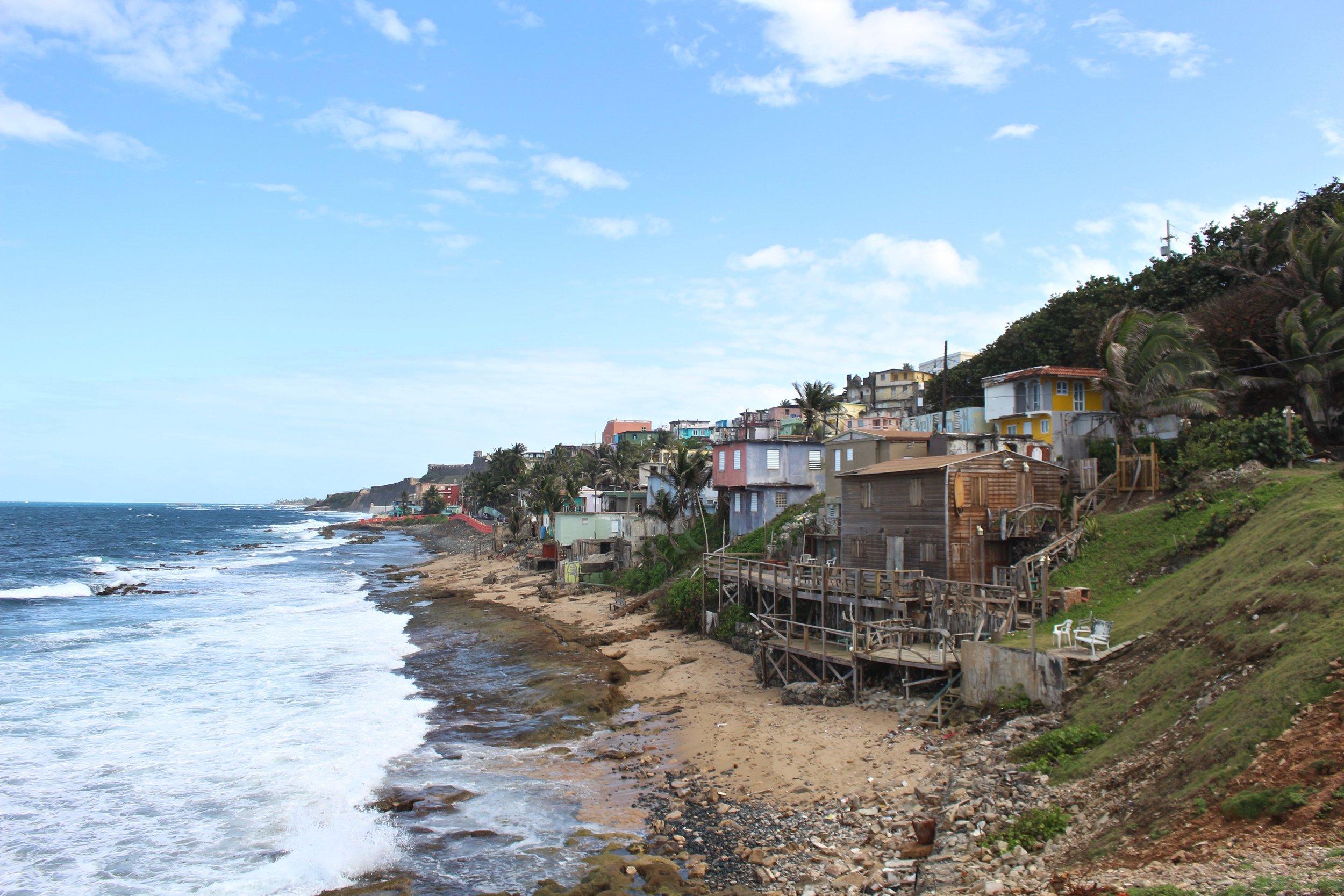 La Perla, San Juan, Puerto Rico.