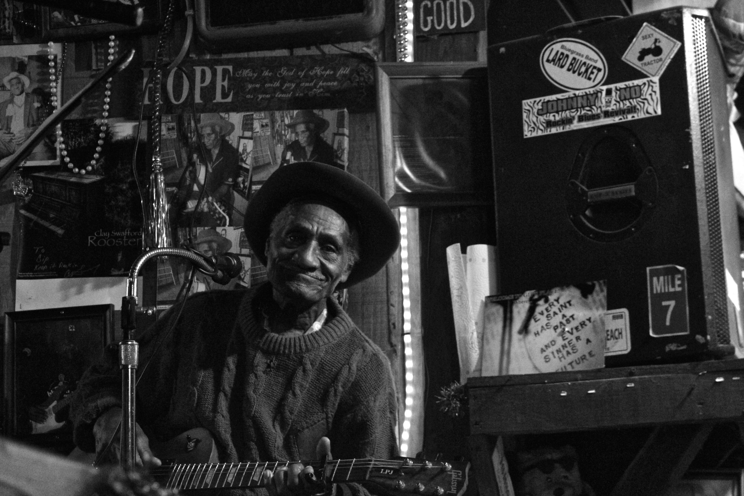 Henry Gipson at Gip's Place