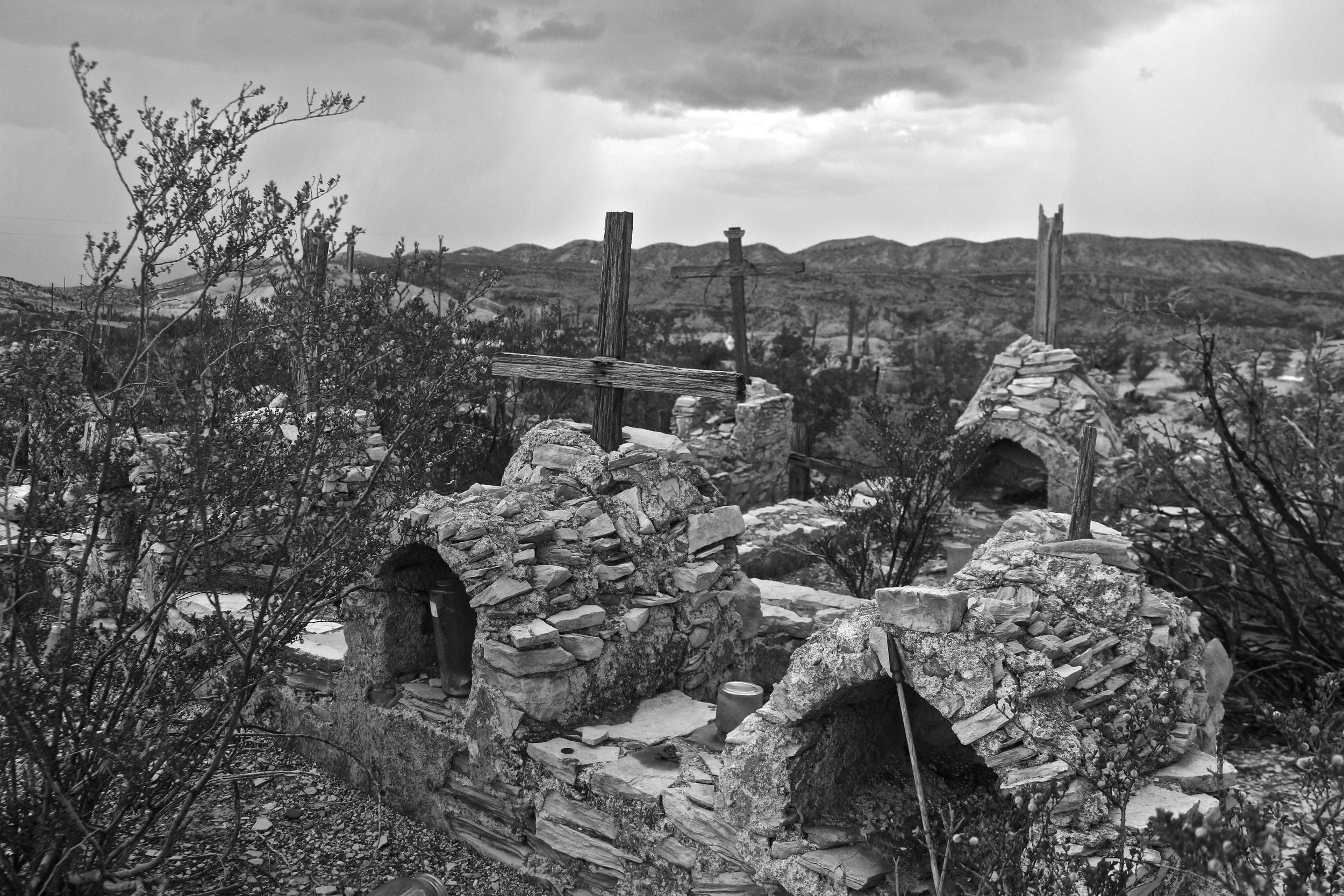 Terlingua Cemetery.