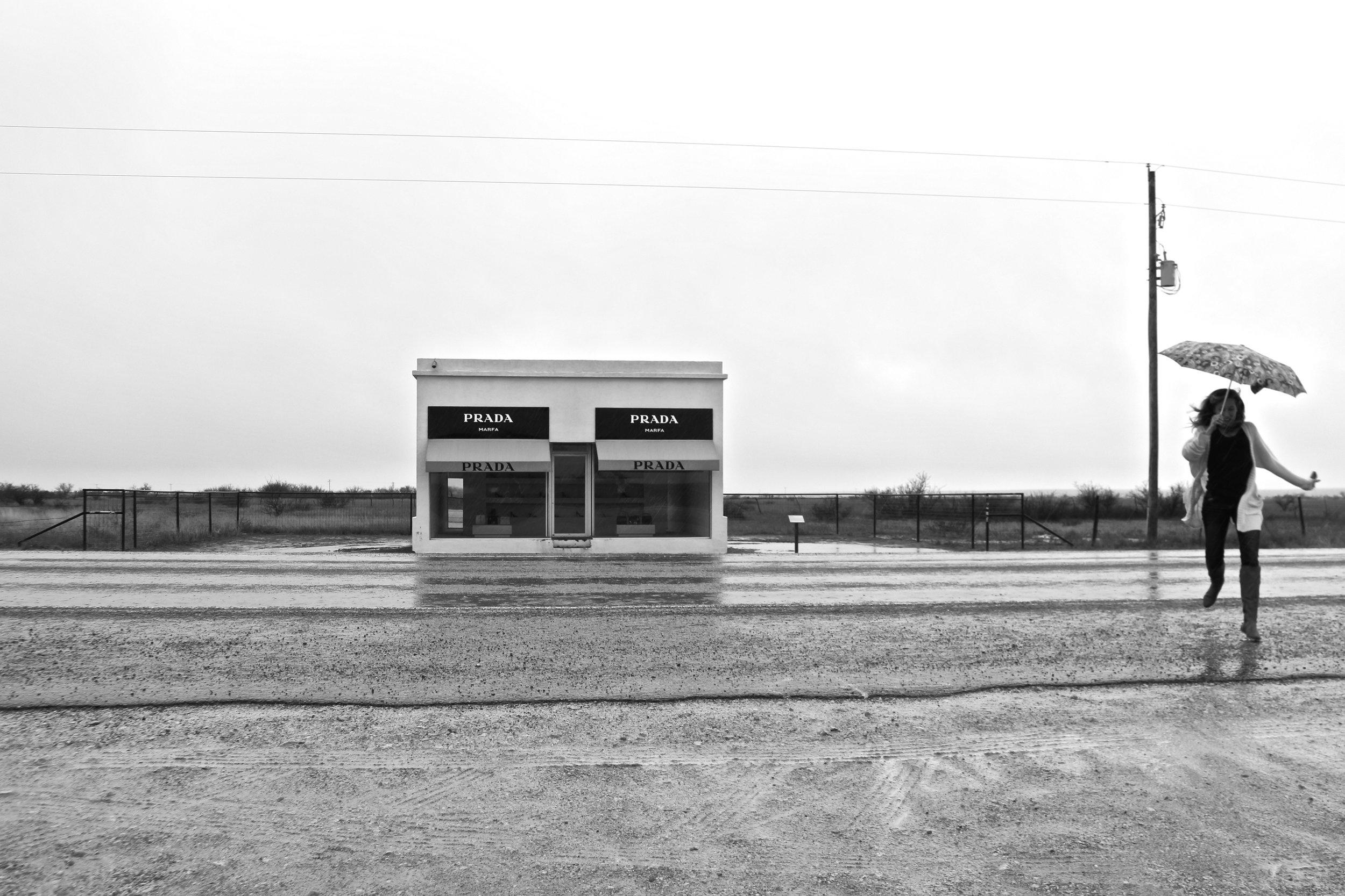 Prada Store, Marfa, Texas.