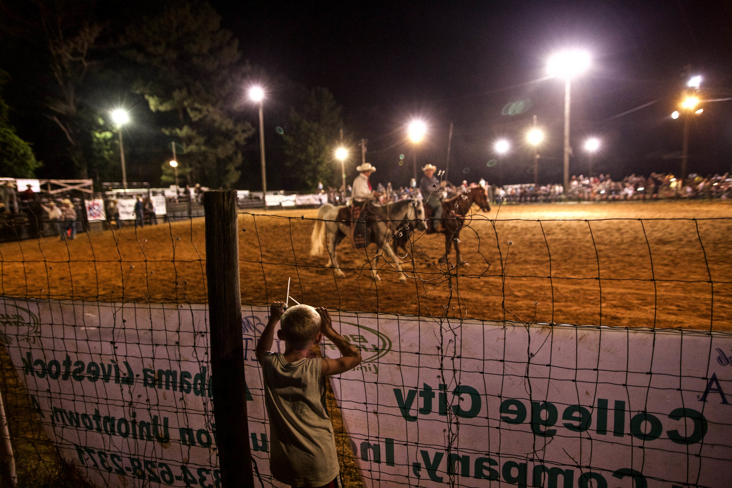 Marion Rodeo, Marion, AL.