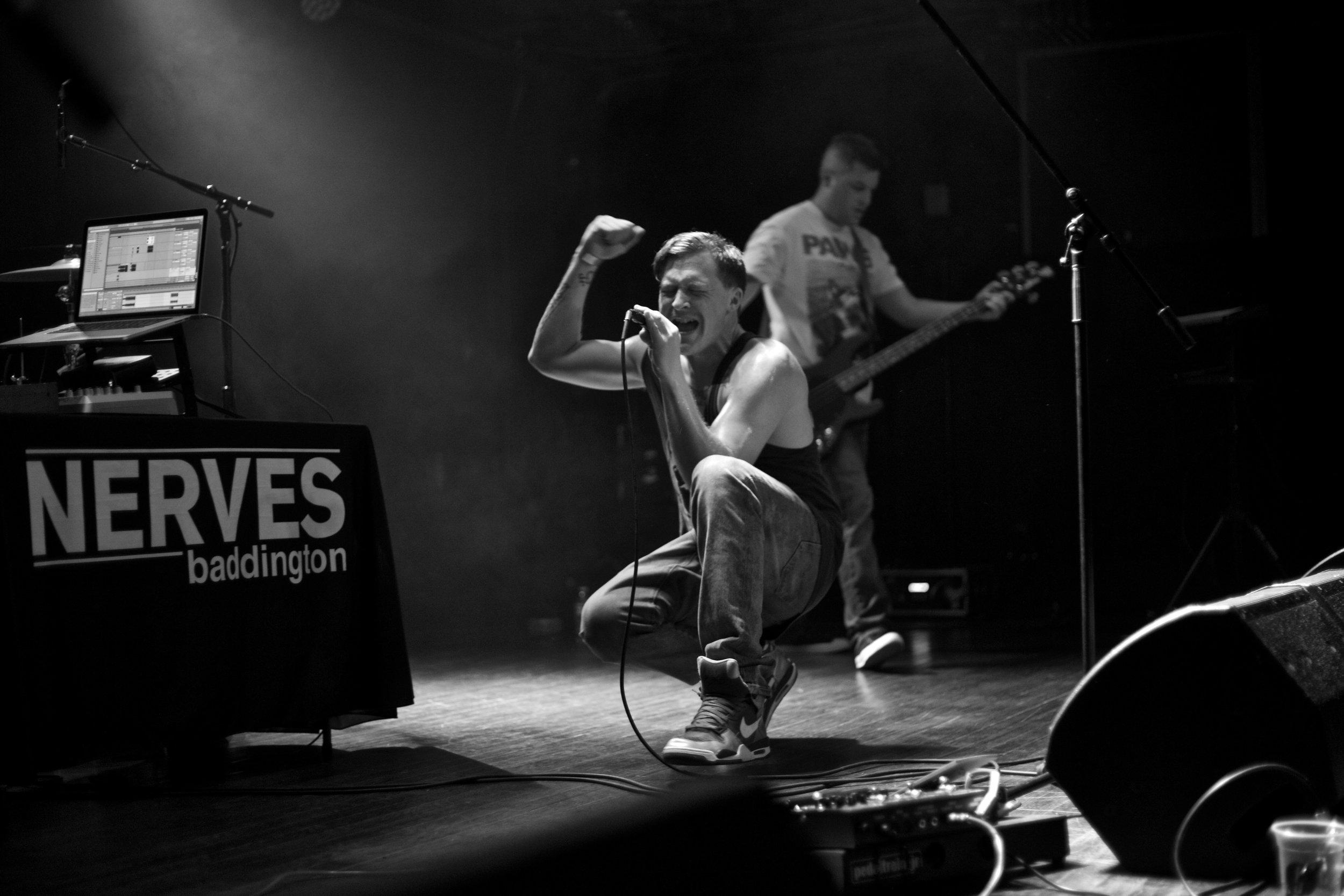 Nerves Baddington. Saturn. Birmingham, AL. 2016.