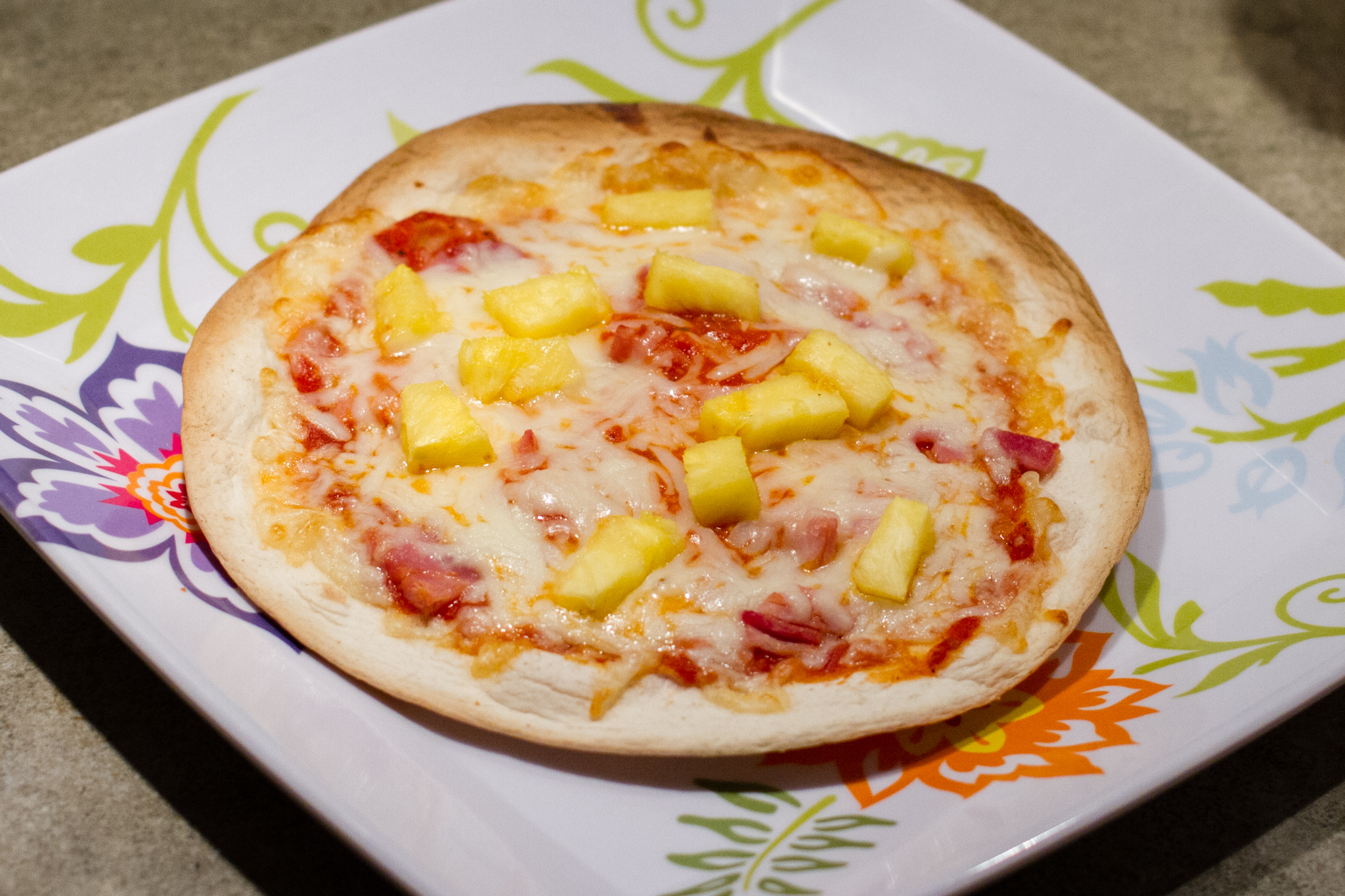 Delicious with ham and pineapple, if you're into that sort of thing.