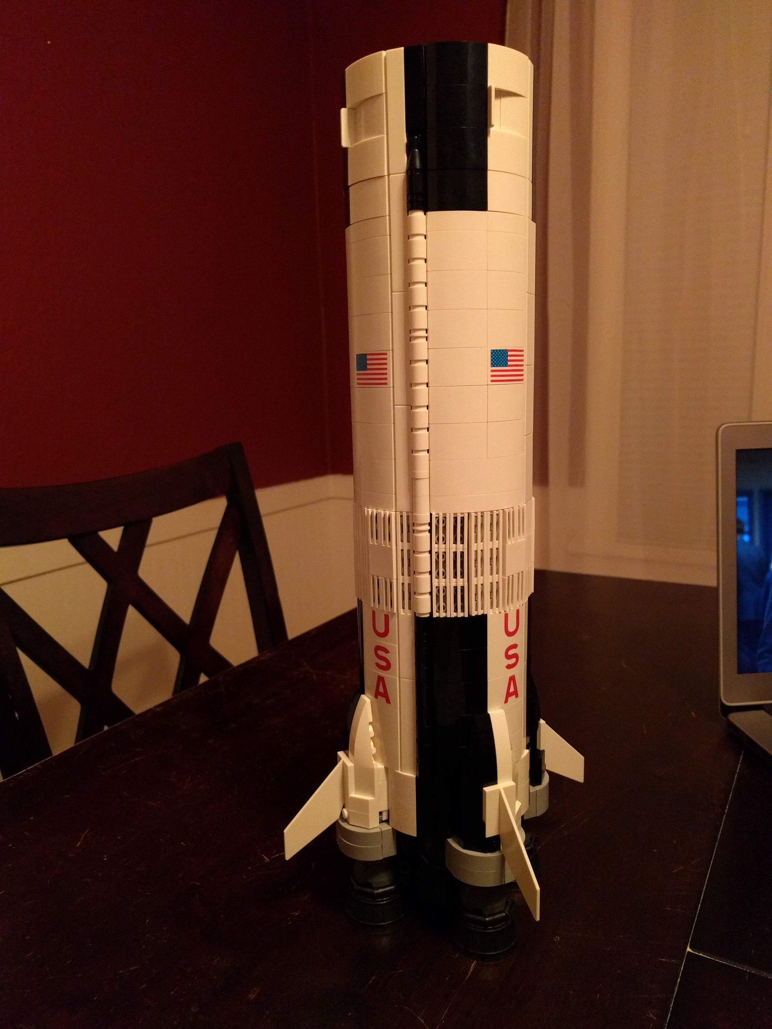 S-IC (first stage) complete!