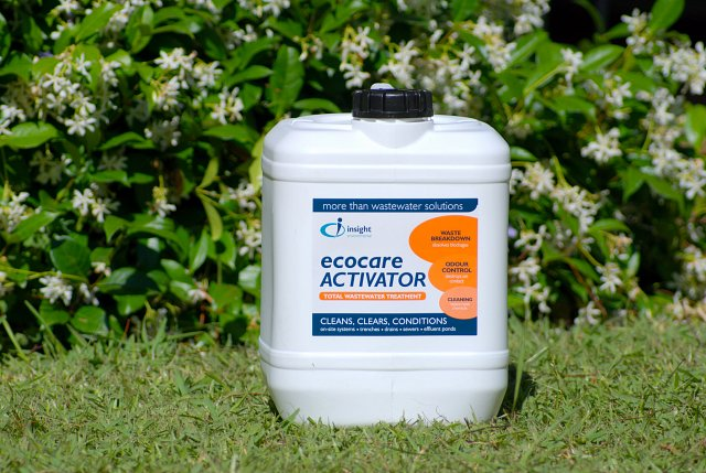 Our Proactive Dosing Plan includes Ecocare Activator – a total treatment for wastewater systems and depending on the issues the system has, we may also recommend additional products.