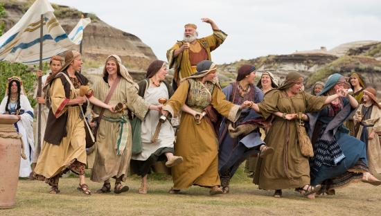Canadian Badlands Passion Play - Badlands Amphitheatre - Drumheller, ABJuly 2014, 2015, & 2017Co-Directors: Barrett Hielman & Jessica HickmanChoreographer: Jessica HickmanCalgary Herald - preview
