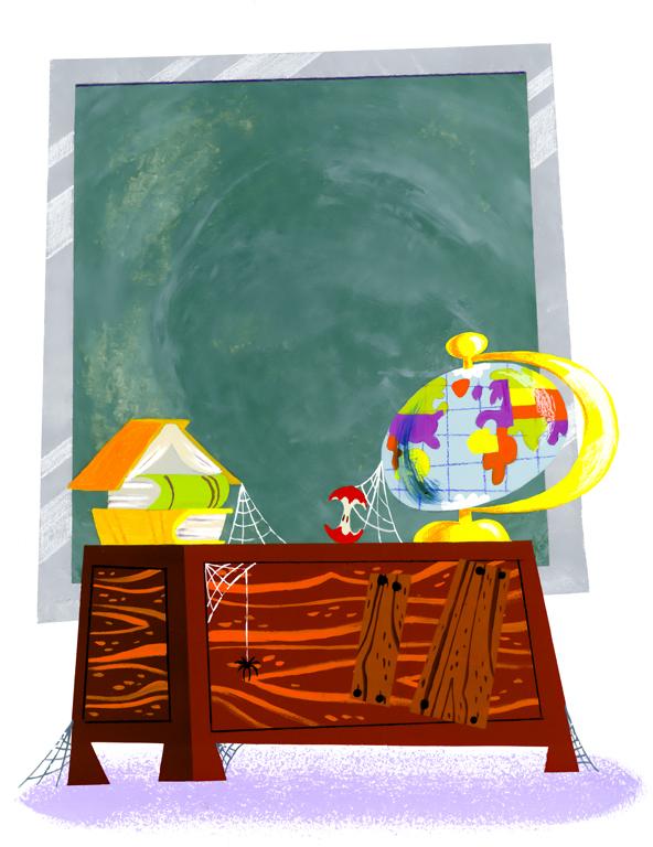 The Teacher's Desk