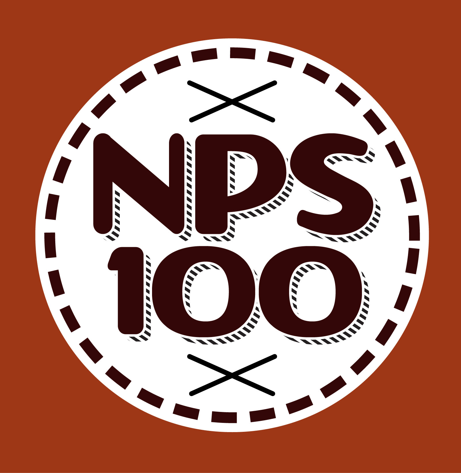 Unofficial NPS100 Badge for TypeHike Exhibition