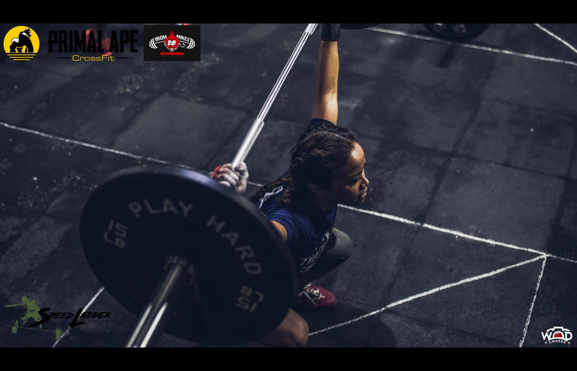 Dondi Quintans leads the Snatch - Women's Scaled division (Photo: WOD Chaser)