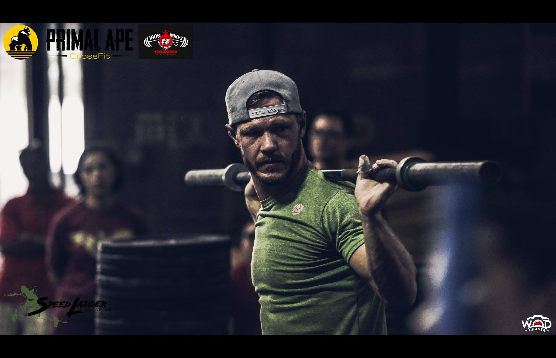 Coach 'Iron Mike' Michael Mogard of Reebok CrossFit 673 blasts his way to top post at Men's RX.(Photo: WOD Chaser)