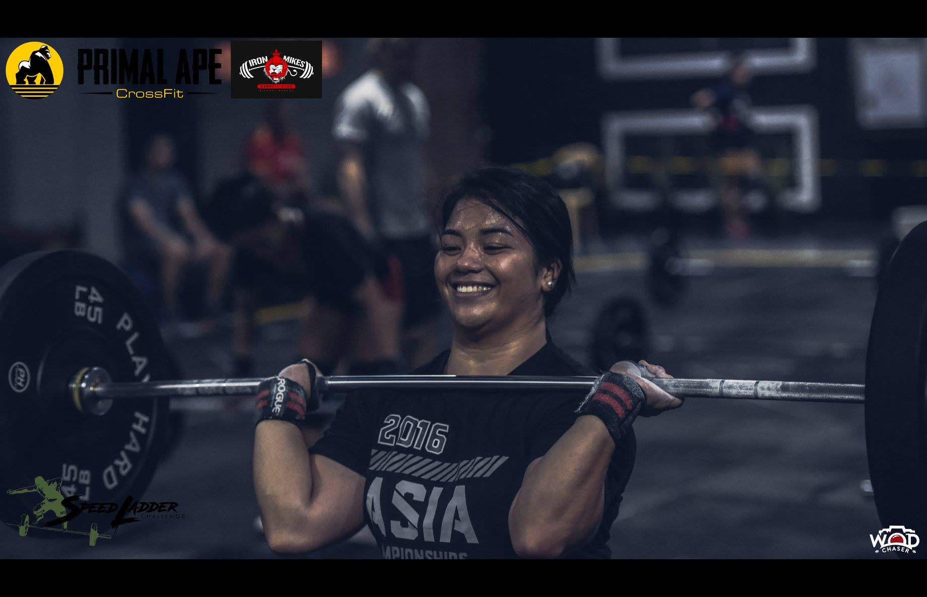 Clean and Jerk Women's RX is dominated by CF FNB's Joyce Gail Reboton.(Photo: WOD Chaser)