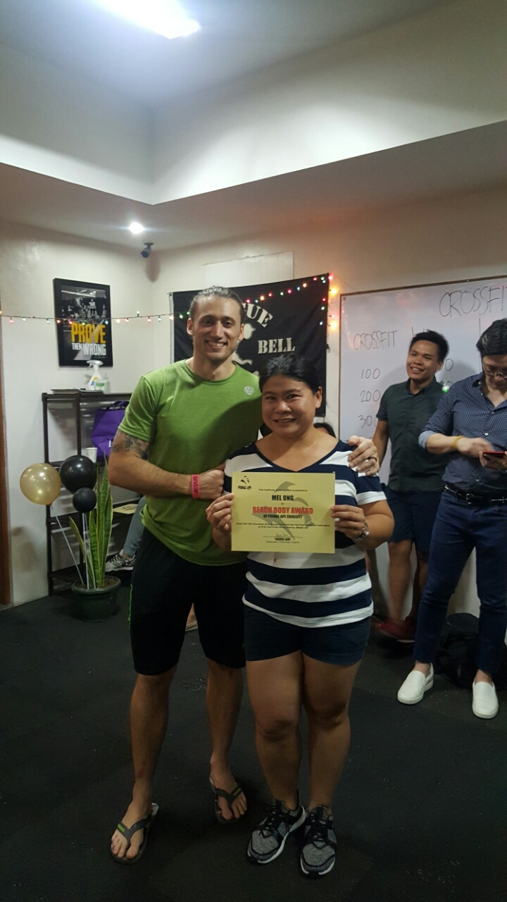 Mel Ong is the Beach Body Awardee of Primal Ape