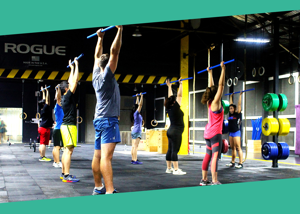Learn your foundations right, in the country's biggest CrossFit box!
