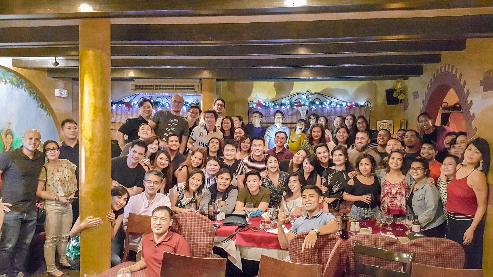 Primal Ape CrossFit community at Alba Restaurante Espanol