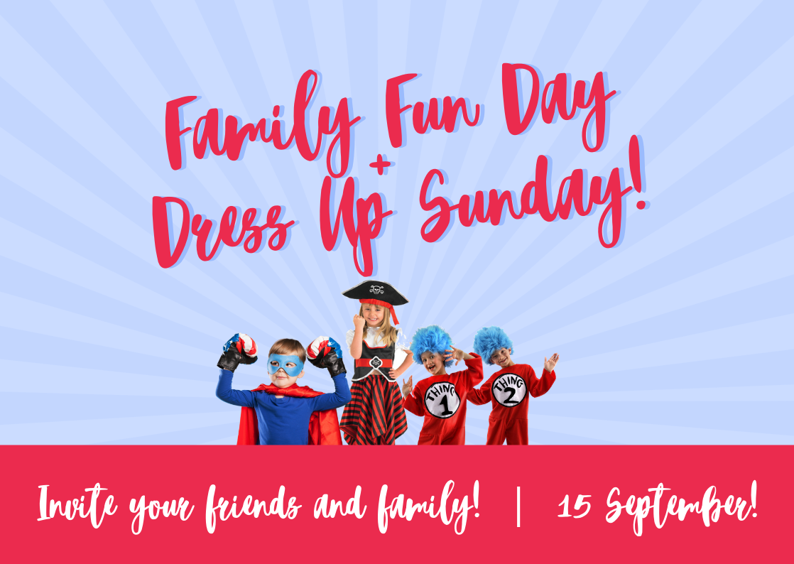 Our favourite Sunday of the year! Everyone welcome! -