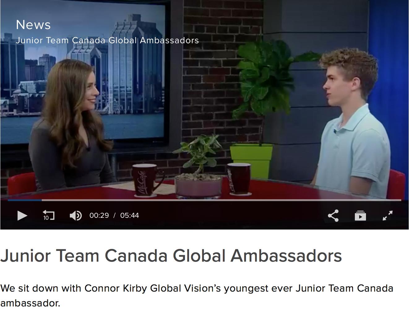 Global News: Connor Kirby -