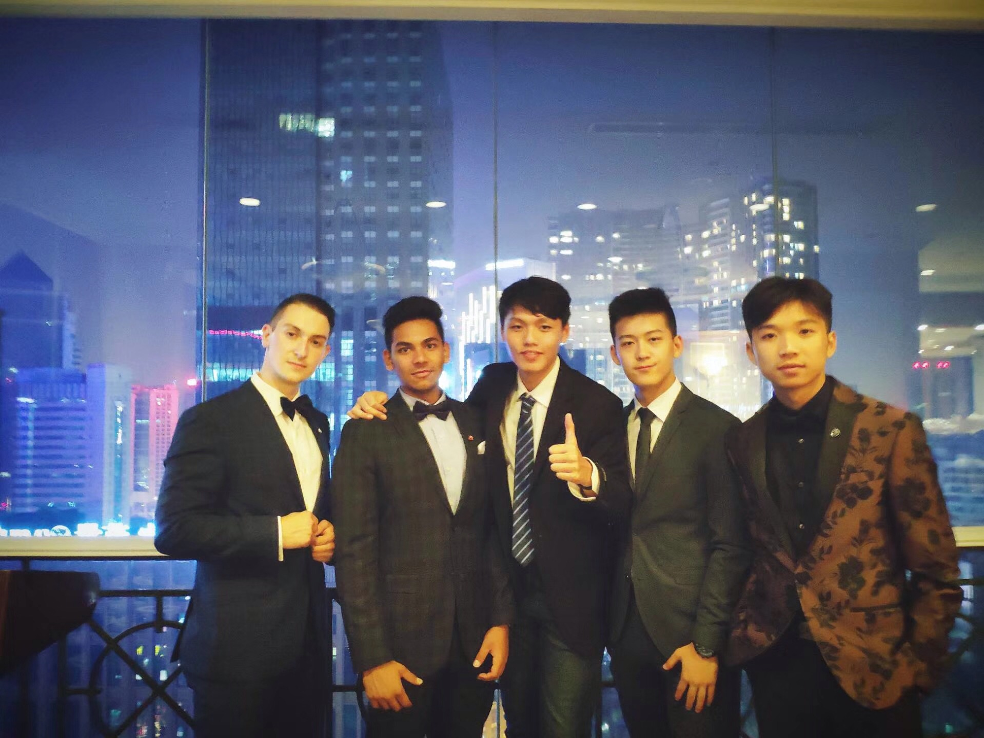 Select JTC Ambassadors gathered for a photo during their time in Hong Kong.