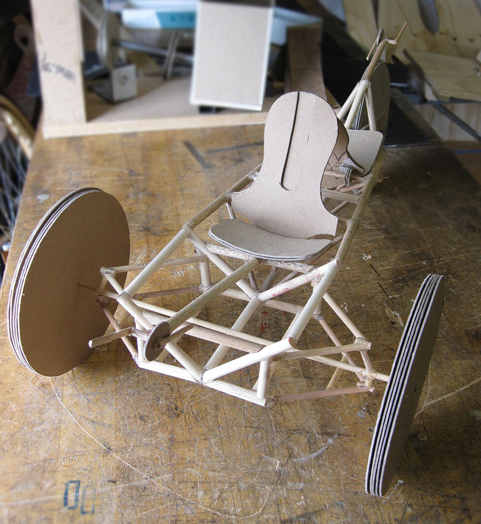 1/4-scale Model