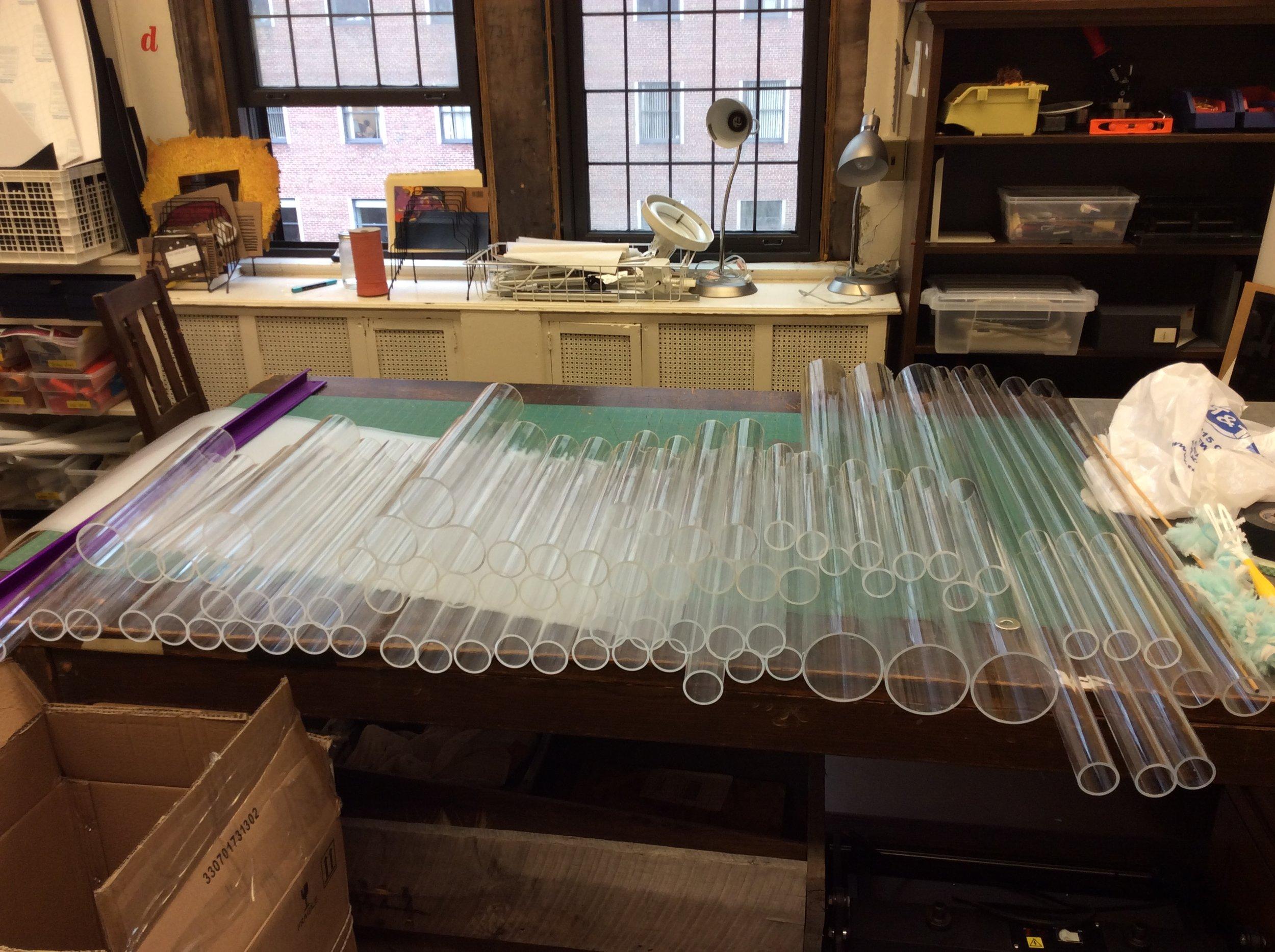 Acrylic tubes!