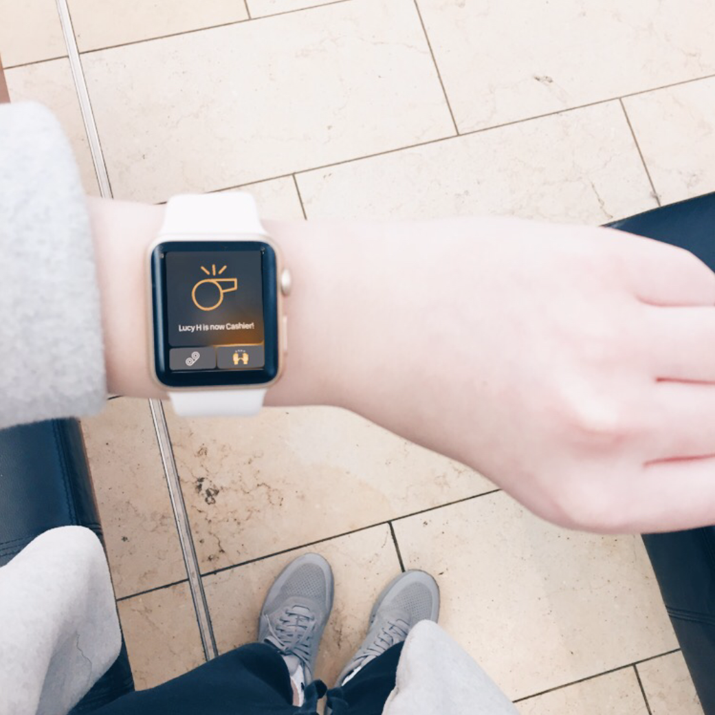 Dough, Retail Team Communication — Apple Watch and iPhone App