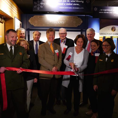 February 17, 2018 - OPENING:Discover History Center: Washington's Headquarters Museum