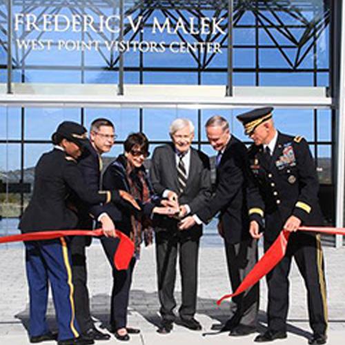 December 4, 2017 - OPENING:Frederic V. Malek West Point Visitors Center