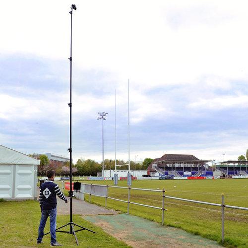 Hague AMP4 Highshot Camera Mast With Manual Pan & Tilt — Hague