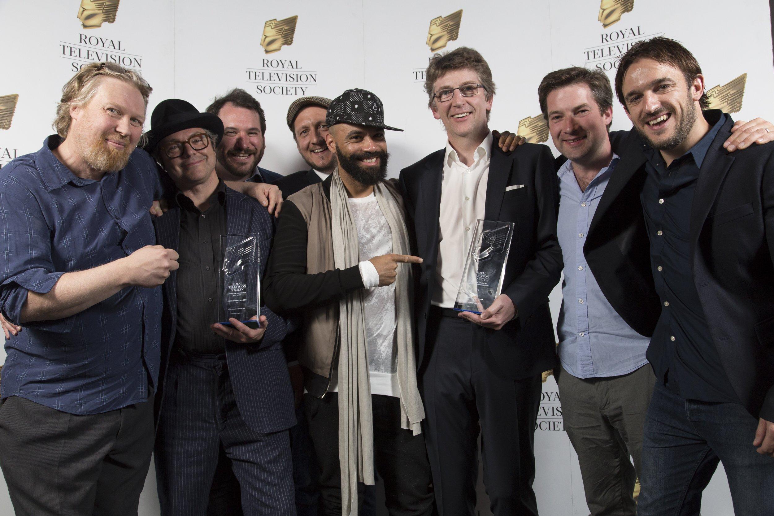 RTS Scotland Award - Winners: Leopard Drama.         Photo by ..............