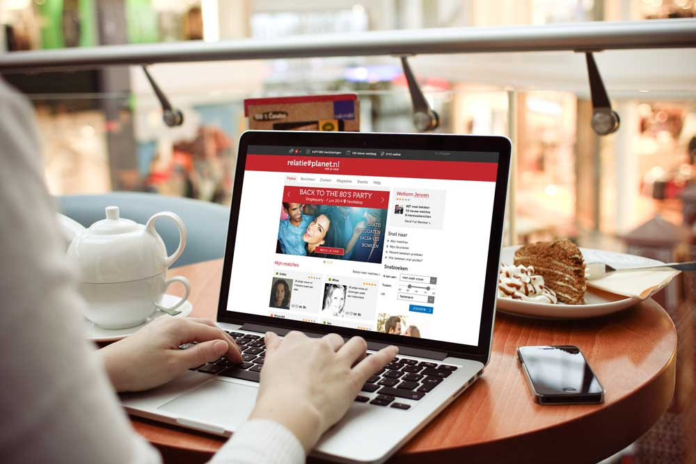 restyling relatieplanet.nl website design