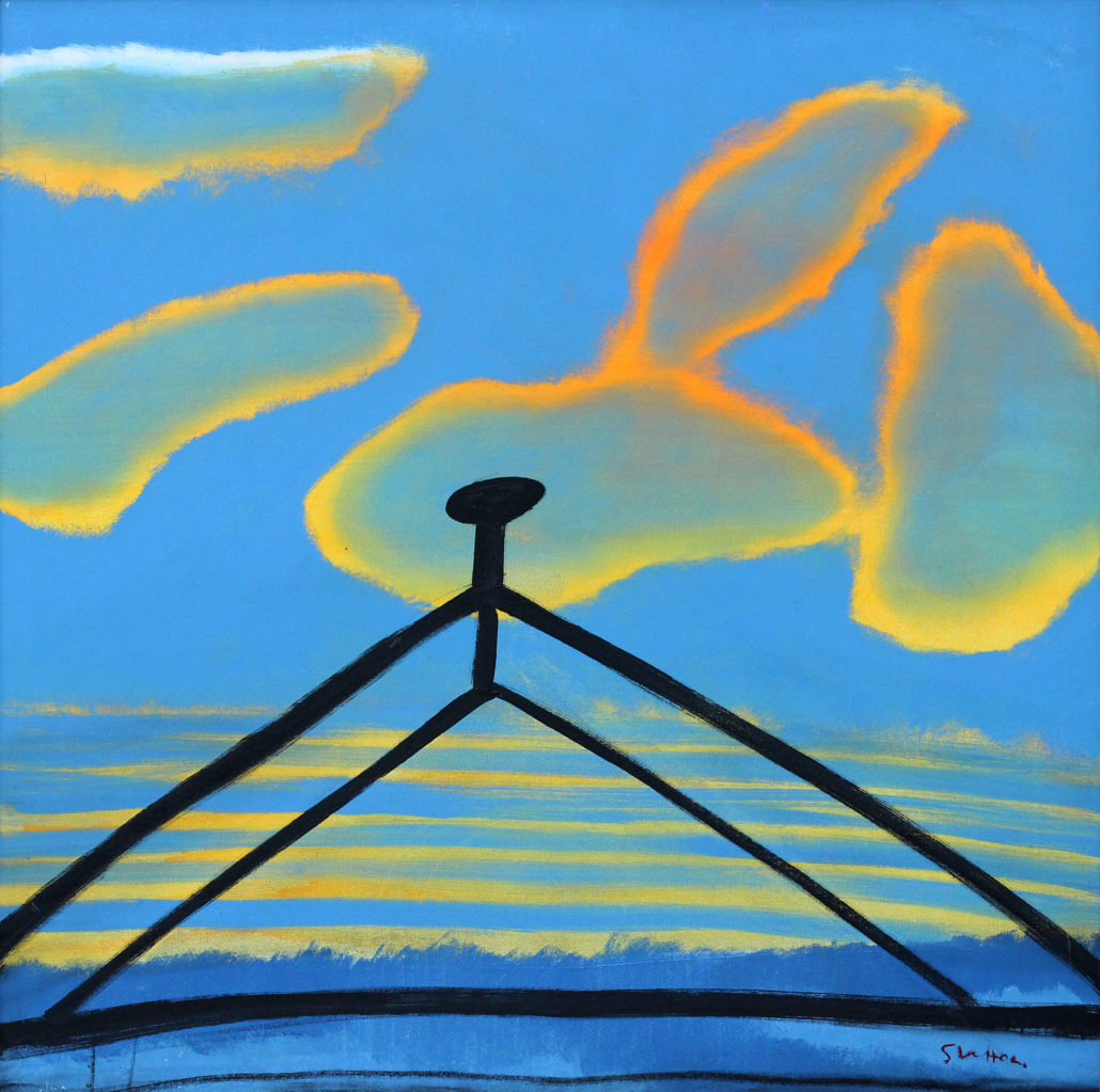 """Roof at Dawn"""