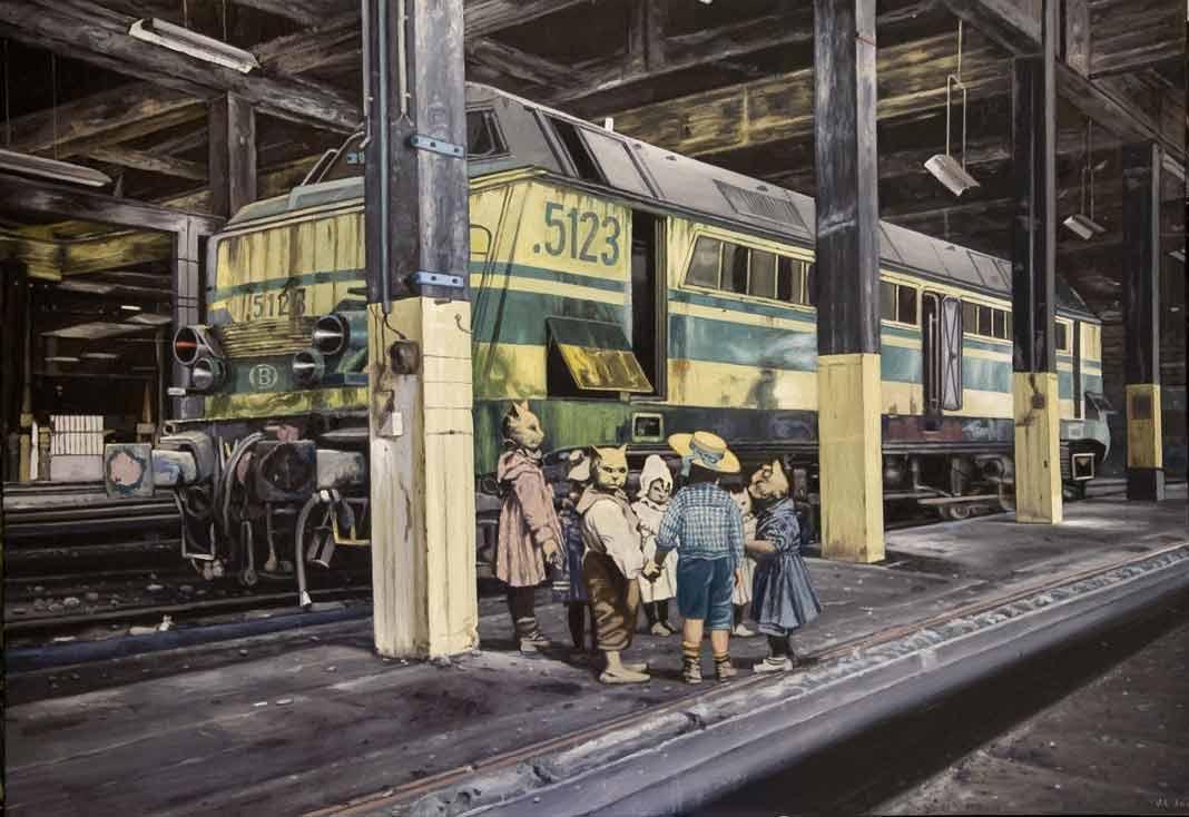 """SOLD """"Los Ultimos pasajeros del Orient Express""""  SOLD"""