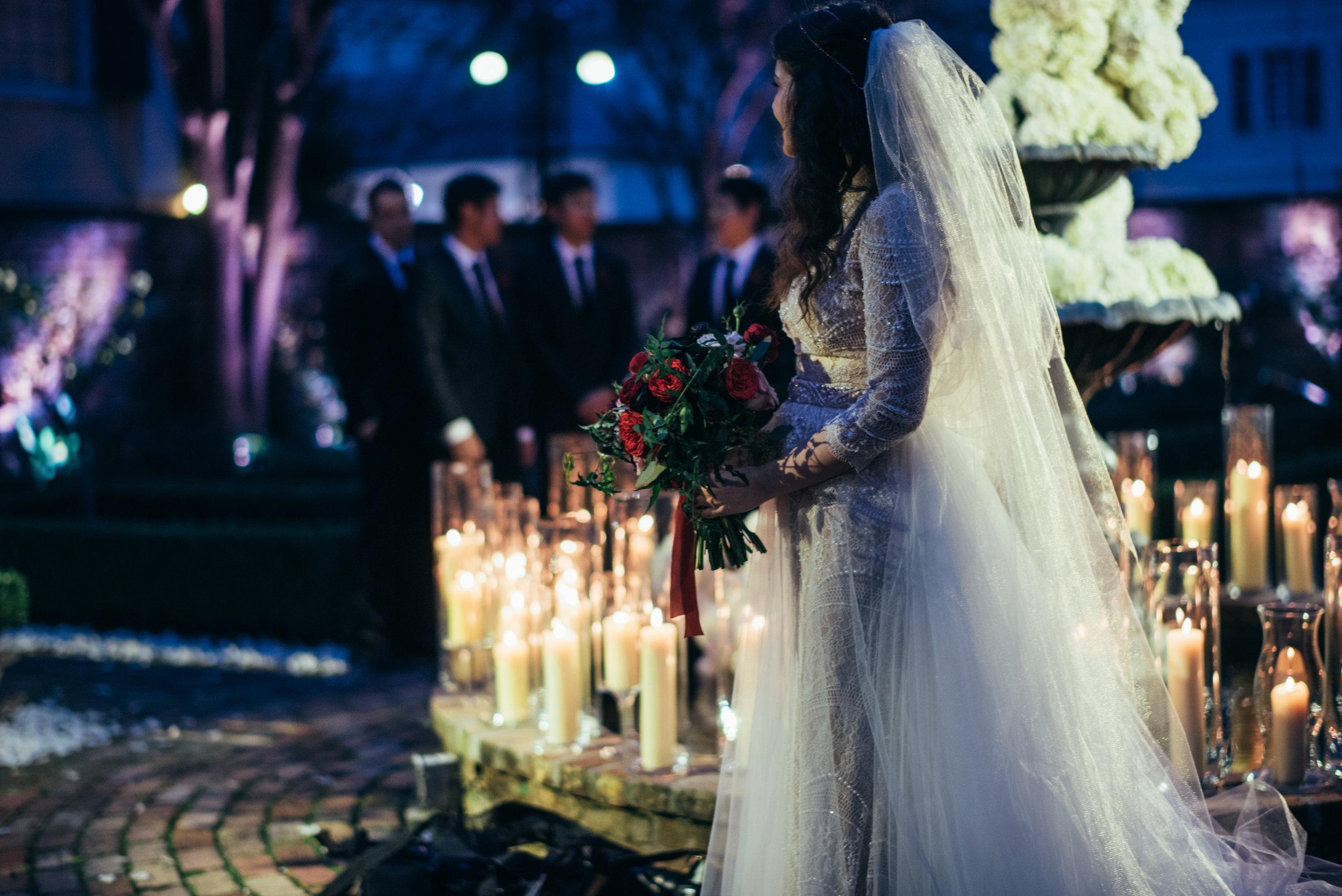 Romantic Courtyard Weddings | French Quarter Weddings | Beauregard Keyes House | NYE Wedding | Sapphire Events
