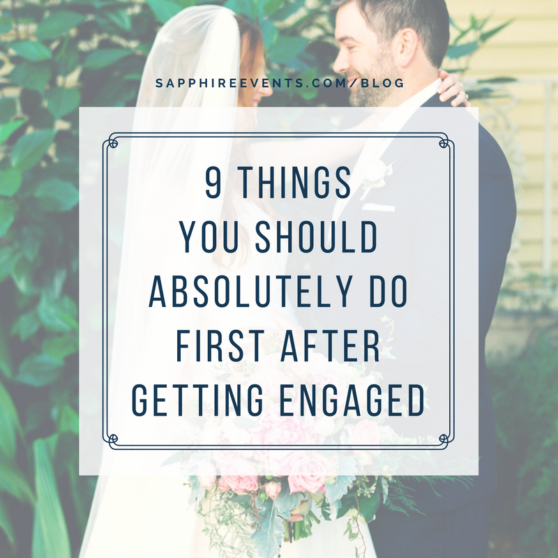 Wedding Planning Tips | What to do after the ring | Engagement Inspiration | Wedding Planning Inspiration | Best Wedding Planner in New Orleans | Essential Engagement Tips