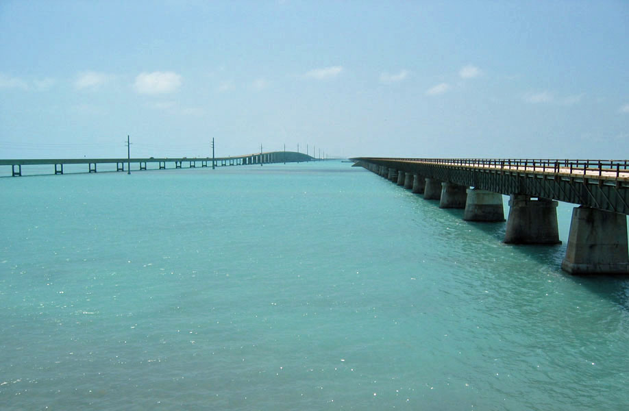 The 7 Mile Bridge is one of 42 bridges in the Keys. The Florida Keys is paradise for the shore bound angler.