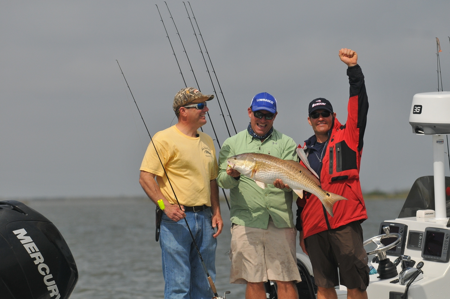Winter cold fronts may require a slower approach and possibly live bait to get the bite